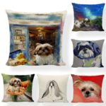 0-oil-painted-shih-tzu-pillowcover