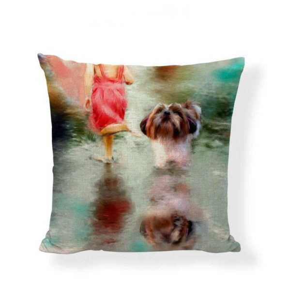 1-oil-painted-shih-tzu-pillow-cover