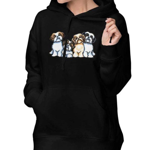 2-four-shih-tzu-black-hoodie-front